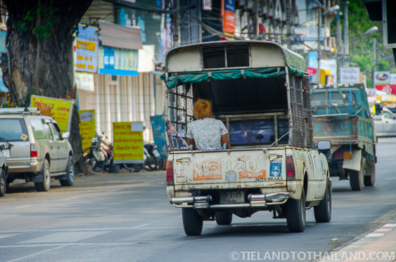 Thai Pickup Truck in Chiang Mai