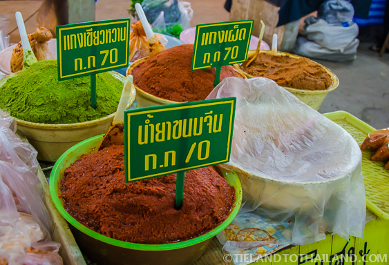 Mounds of Thai Curries