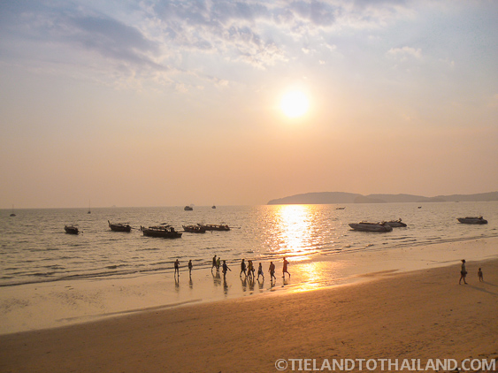 Andaman Sunset in Ao Nong