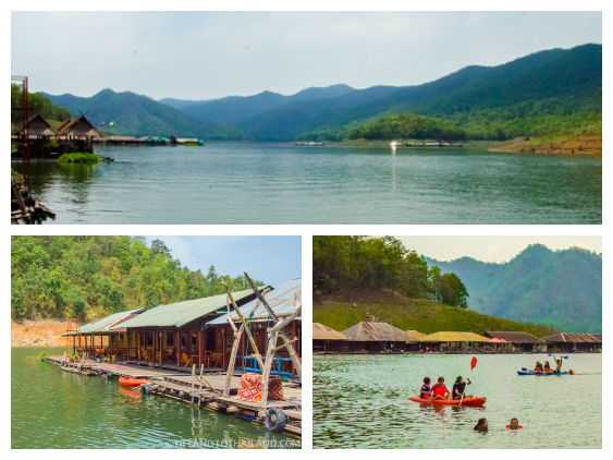 Mae Ngat Dam Floating Houses