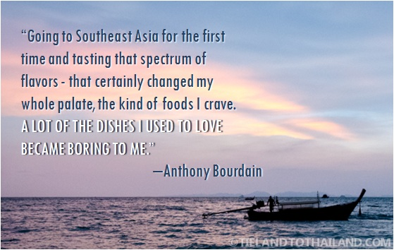 Anthon Bourdain Quote
