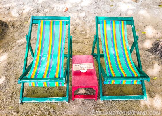 Nature Beach Resort Lounge Chairs
