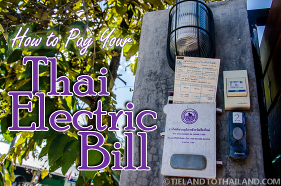 How to Pay Your Thai Electric Bill