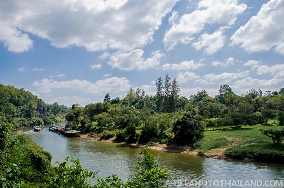 Overlook at Tham Krasae train stop