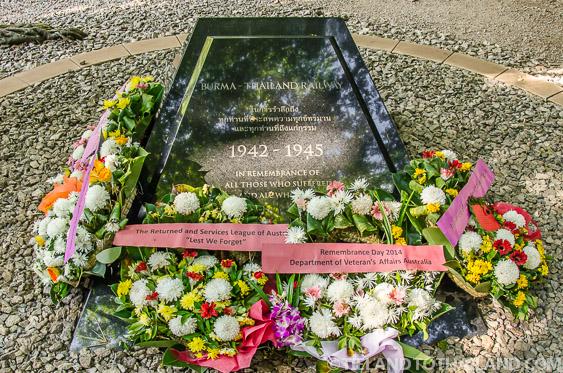Memorial at Hellfire Pass