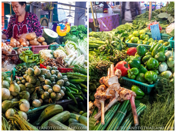 Grocery shopping at Thailand's fresh produce markets