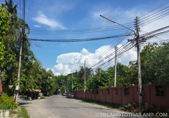 Clear skies in Chiang Mai