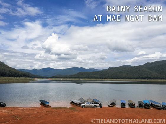 Rainy Season at Mae Ngat Dam