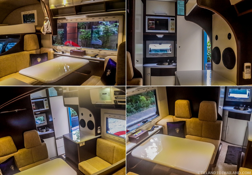 Campervan Thai Interior