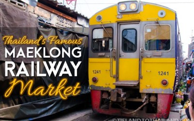 The Famous Maeklong Railway Market