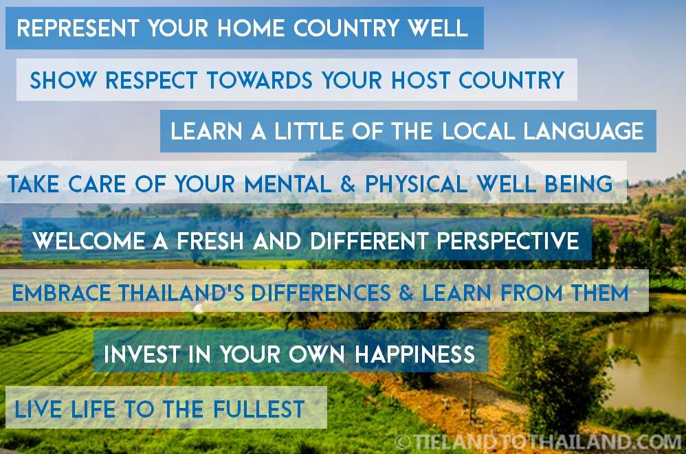 How Not to be a Bad Expat in Thailand