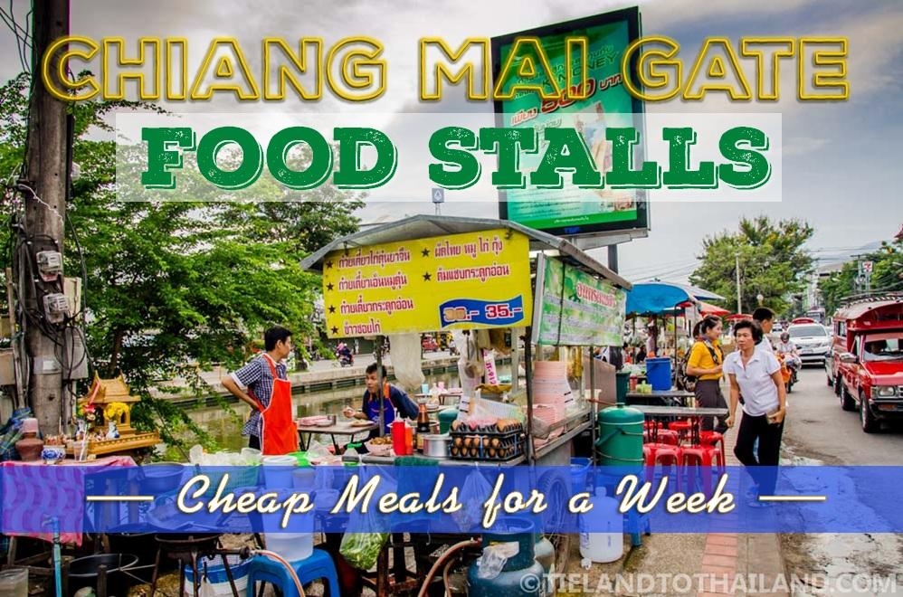 Chiang Mai Gate Food Stalls