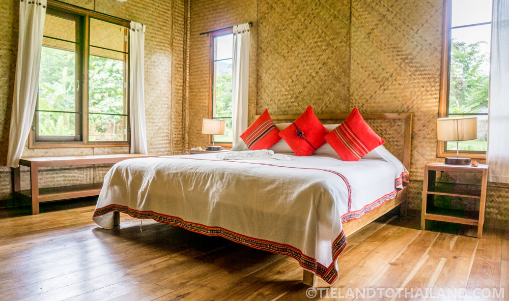 Spacious room at Chiang Dao Nest 2 in Chiang Dao, Thailand