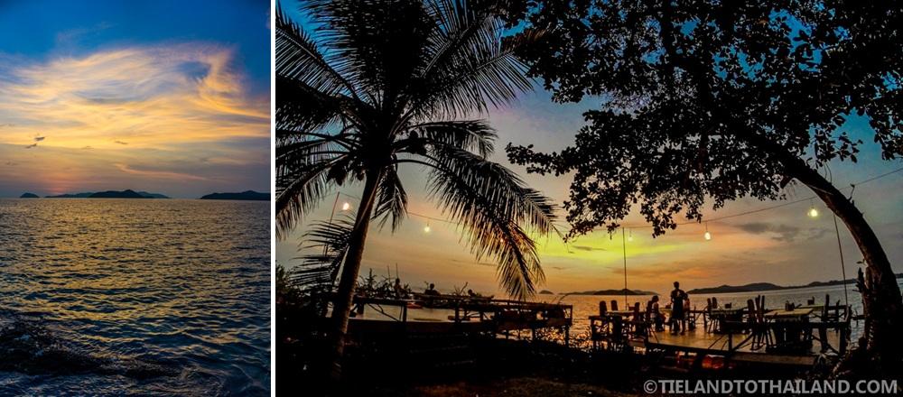 Trip to Koh Mak: Sunset at Banana Bar