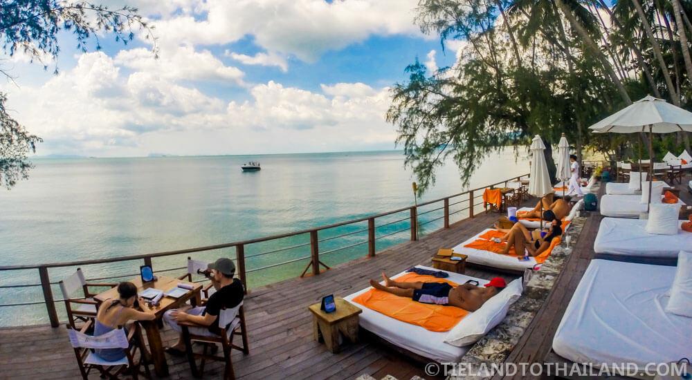 Nikki Beach Koh Samui overlooking Lipa Noi Beach