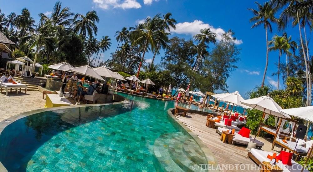 Bottle Service at Nikki Beach Koh Samui Pool