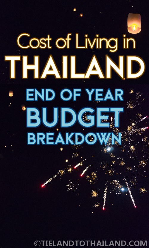 Cost of living in Thailand: A breakdown of our entire budget living and traveling in Thailand in 2015 | Tieland to Thailand