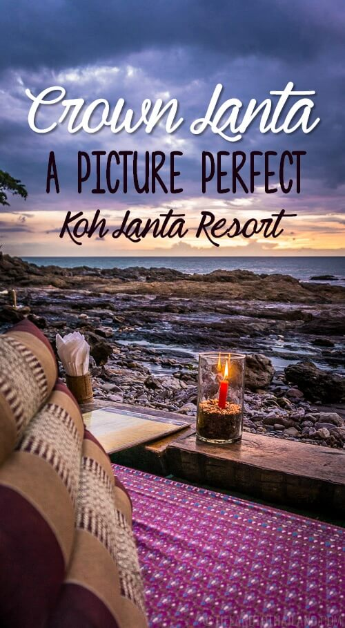 Crown Lanta is one of those Koh Lanta resorts perfect for treating yourself on an easygoing tropical island. | Tieland to Thailand