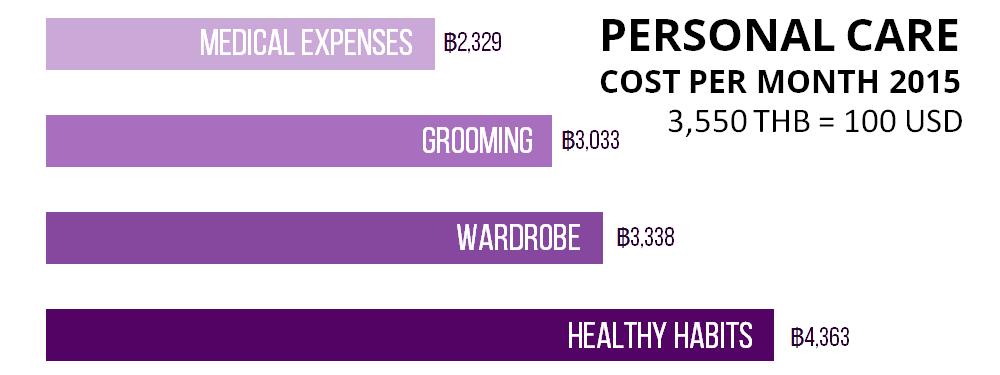 Health Expenses Chiang Mai 2015