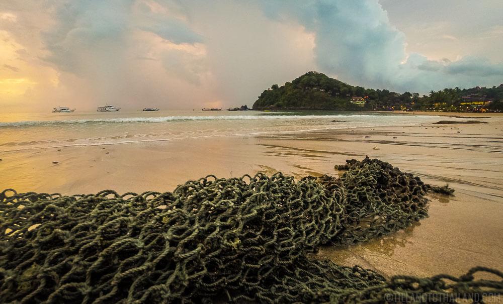 Kantiang Bay Beach on Koh Lanta Thailand