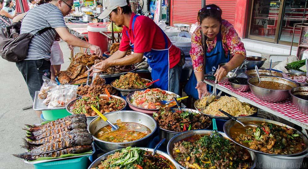 Thai Street Vendor Food