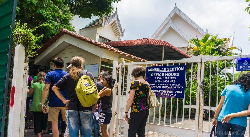 Thai visa run Penang Malaysia