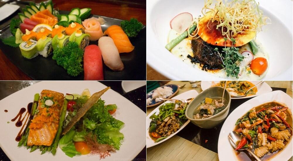 Khao Lak Resort & Spa restaurants