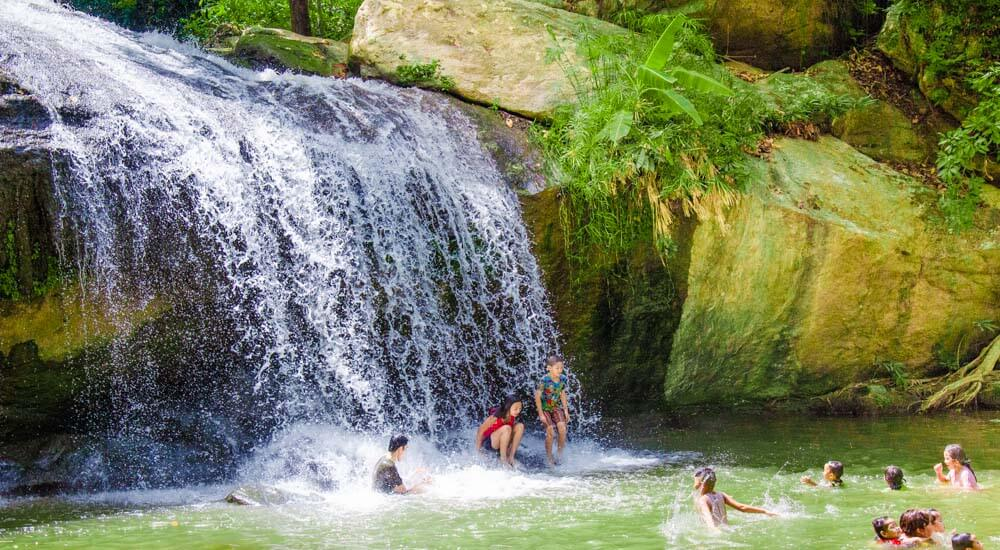 Cool off with a day trip from Chiang Mai to the Mae Sa Waterfalls