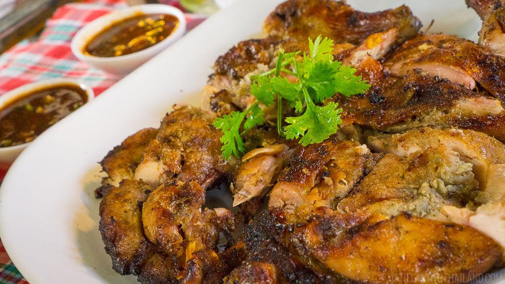 Classic Isaan Thai food: Gai Yang