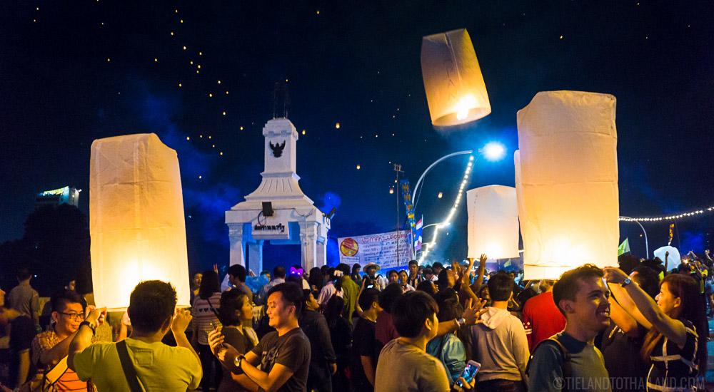 Yi Peng Festival Full Moon November Chiang Mai Thailand