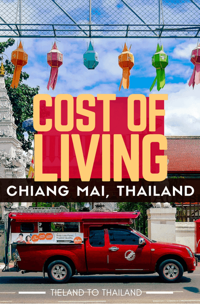 Fantasizing about living abroad? The cost of living in Chiang Mai, Thailand is surprisingly affordable, even if you AREN'T taking the cheapest alternative.