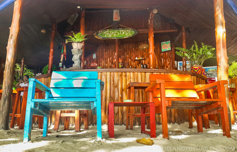 The best drinks in Koh Chang are at Tapas Bar in White Sands Beach