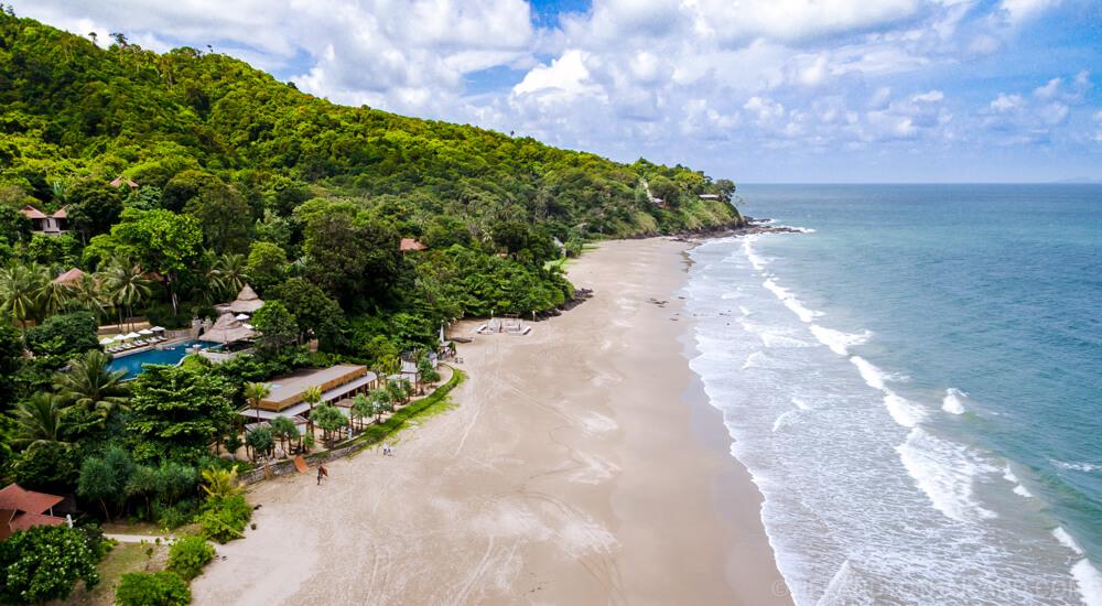 Ba Kantieng Beach in Koh Lanta, Thailand