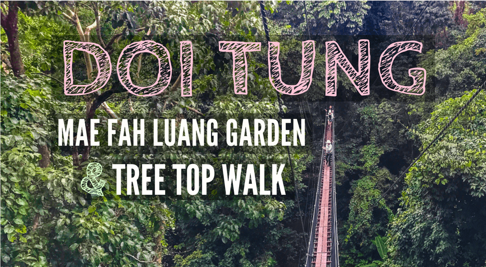 Doi Tung Mae Fah Luang Garden and Tree Top Walk