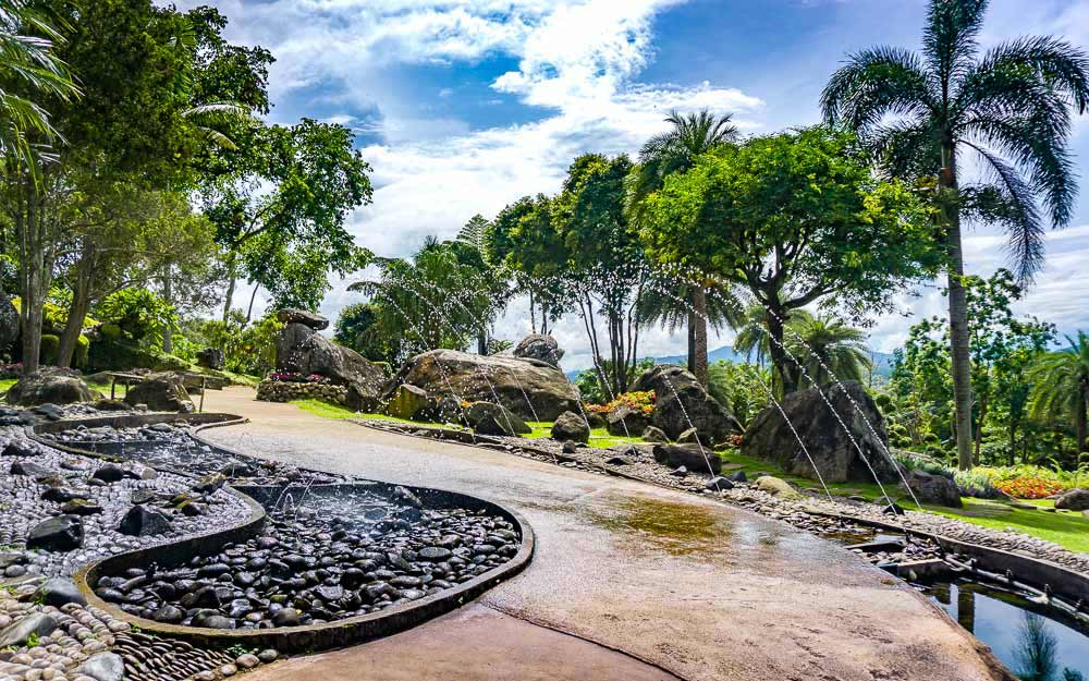 Doi Tung Mae Fah Luang Rock Garden