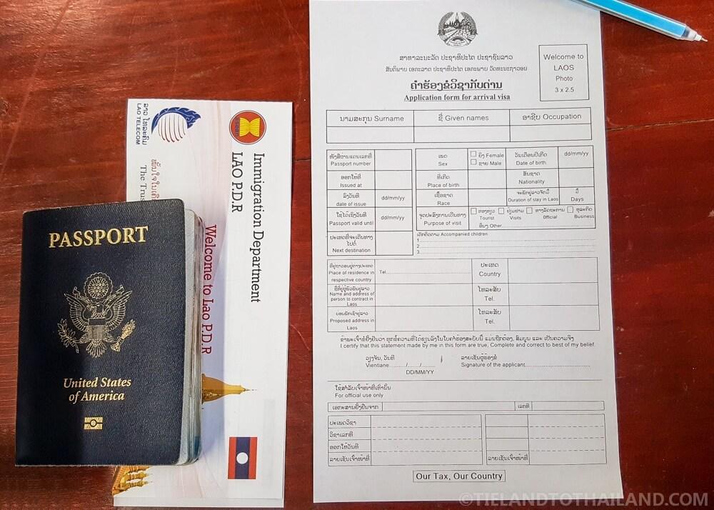 Border Run: Chiang Mai to Chiang Khong-Huay Xai Land Crossing ...
