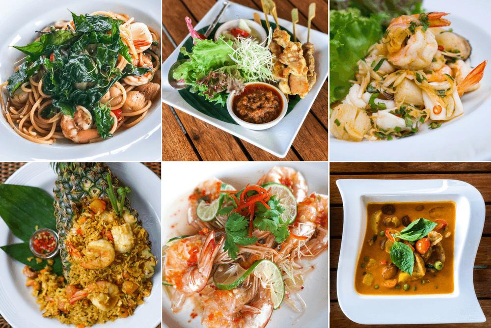Thai Food at the Pimalai Resort & Spa on Koh Lanta, Thailand