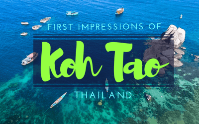 First Impressions of Koh Tao