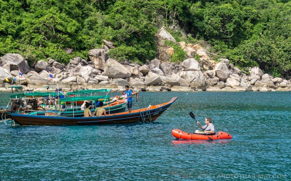 Kayaking Koh Tao Thailand