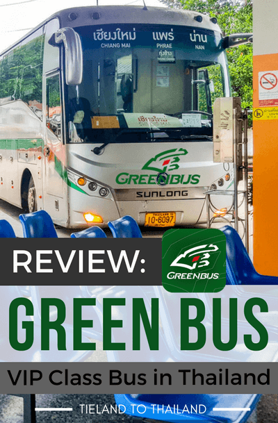 Green Bus VIP bus service has made a name for itself in Northern Thailand. Here's our review about the clean, comfortable, and affordable VIP bus. | Tieland to Thailand