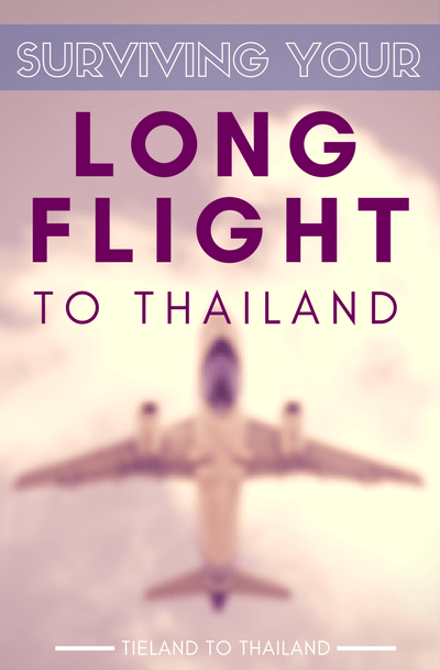 Must you suffer on a long flight to Thailand? Until teleportation is invented, here are 7 tips to keep you sane and comfortable on an international flight. | Tieland to Thailand