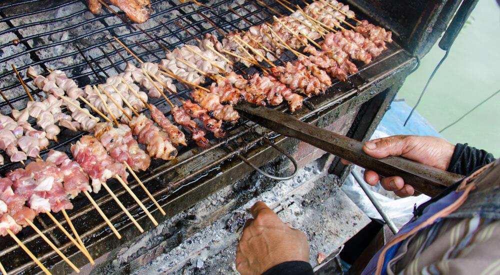 Pork Skewers - Moo Bing | Food Guide to Thai Street Snacks