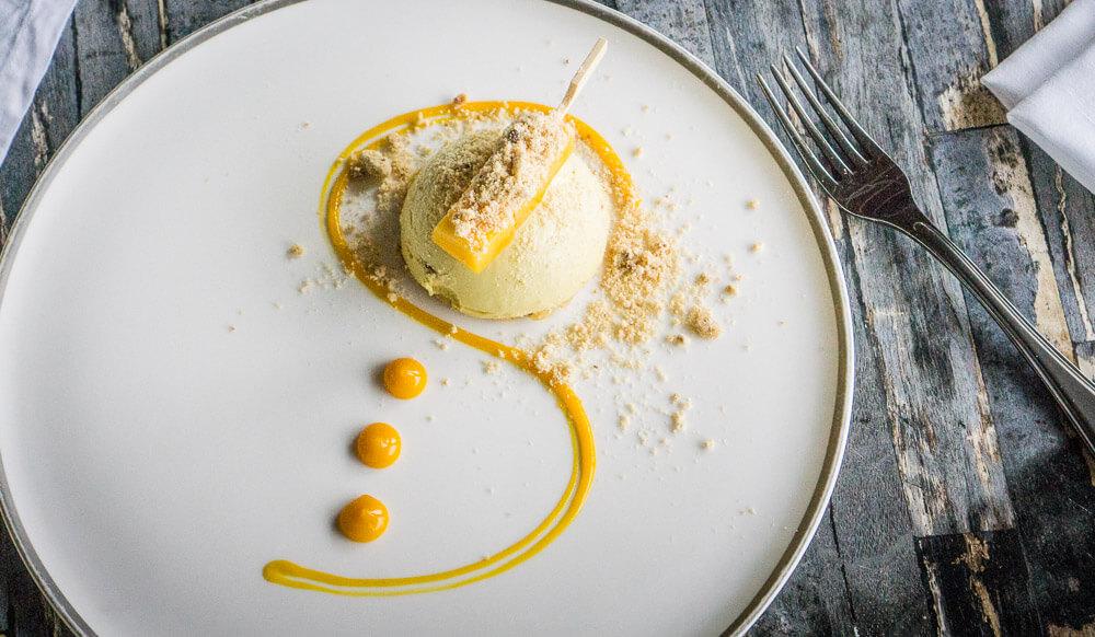 Amatara Retreat Dessert Mango Cheesecake