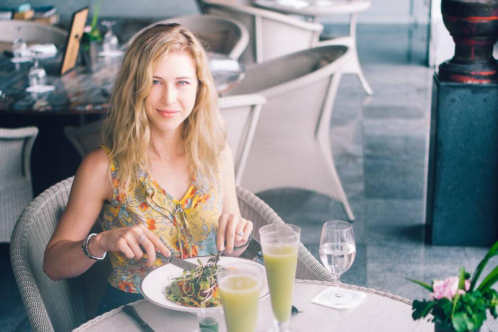Amatara Wellness Resort Lunch