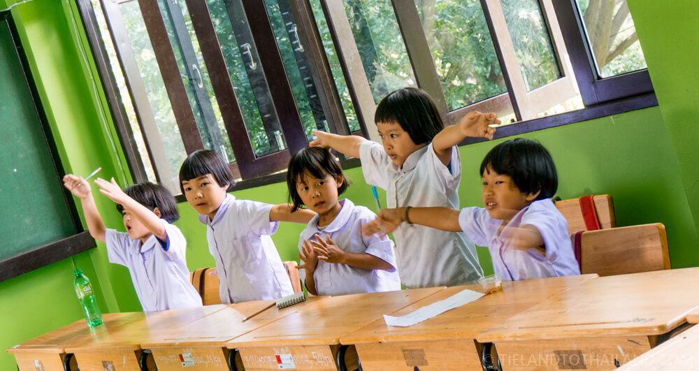 Chiang Mai hill tribe tour - Ban Mae Lam Kam School