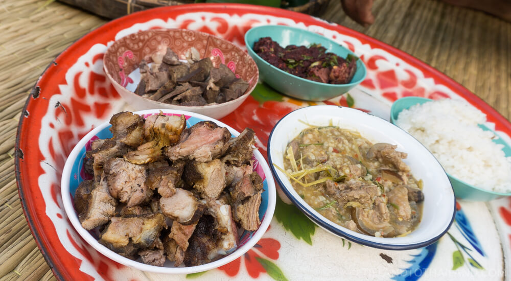 Chiang Mai hill tribe tour and homestay food