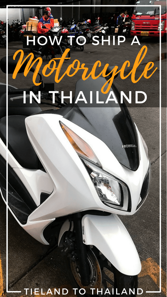 One of the many ways to ship a motorbike in Thailand is by mail. Here's a comprehensive guide to what post offices to use, how much it costs, and what documents to bring to make the process easy. | Tieland to Thailand
