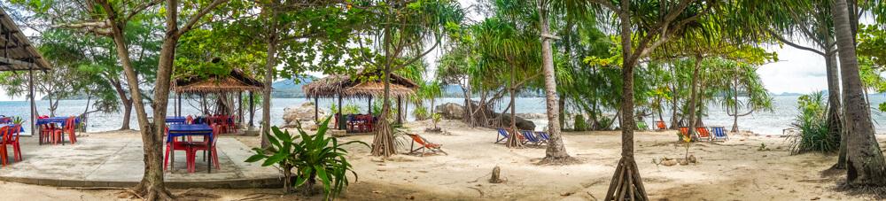 Open air Bon Island Restaurant