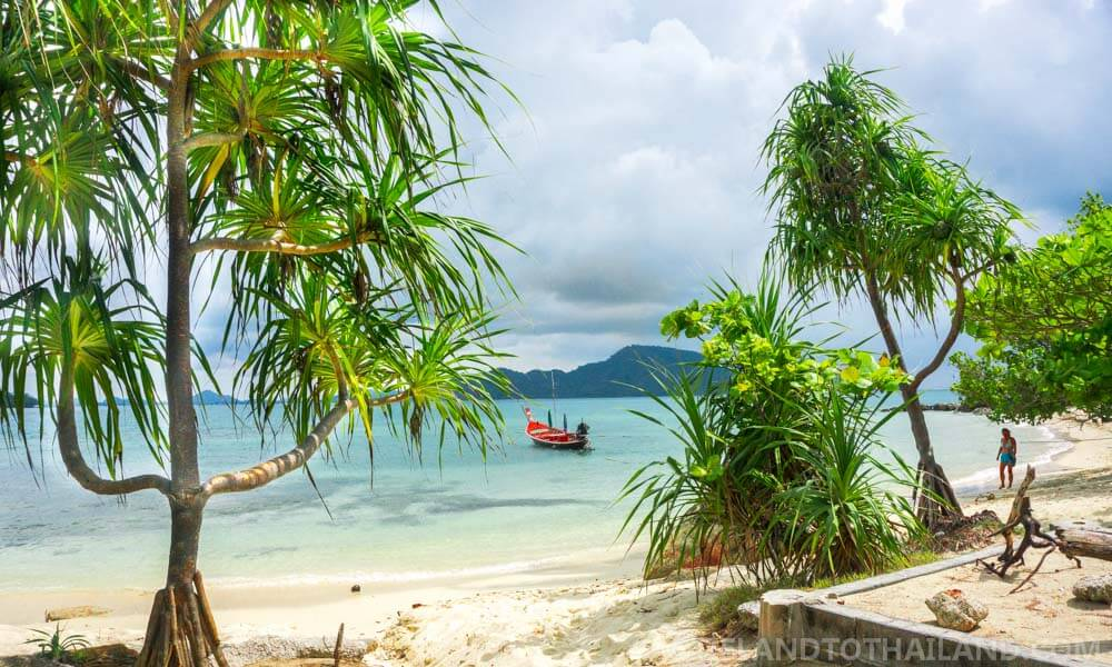 Take a ride on a longtail boat to Koh Bon