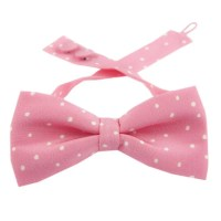 Pretty Woman bow tie on pink